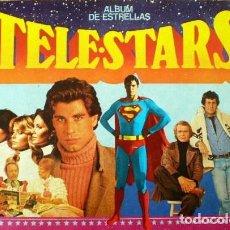 Coleccionismo Álbumes: ALBUM CROMOS TELE-STARS ALBUM DE LAS ESTRELLAS FALTAN 3 CROMOS. Lote 64858631