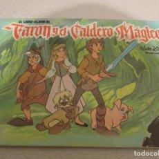 Coleccionismo Álbumes: ALBUM TARON Y EL CALDERO MAGICO DISNEY. Lote 65681942