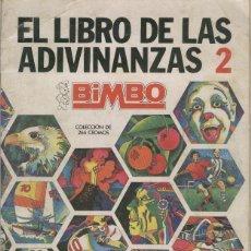 Coleccionismo Álbumes: ALBUM CROMOS EL LIBRO DE LAS ADIVINANZAS 2 FALTAN 104 CROMOS. Lote 65883694