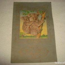 Coleccionismo Álbumes: ALBUM DE CROMOS DE ANIMALES Y PLANTAS MARINAS . ED . FHER . VACIO. Lote 65959554