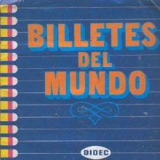Coleccionismo Álbumes: ALBUM DE CROMOS: BILLETES DEL MUNDO. Lote 66086705