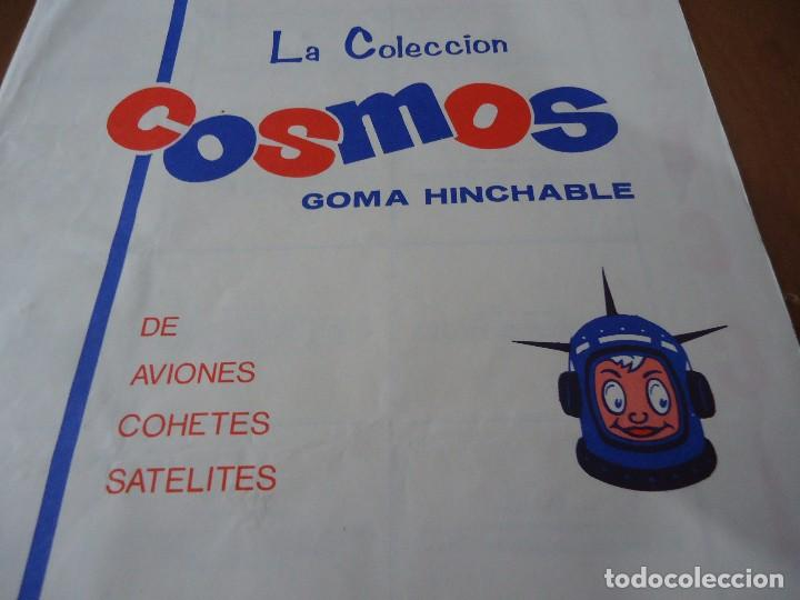 Coleccionismo Álbumes: Álbum la coleccion cosmos goma hinchable de aviones,cohetes,satelites,chicles Americanos S.A 1969 - Foto 2 - 66129070