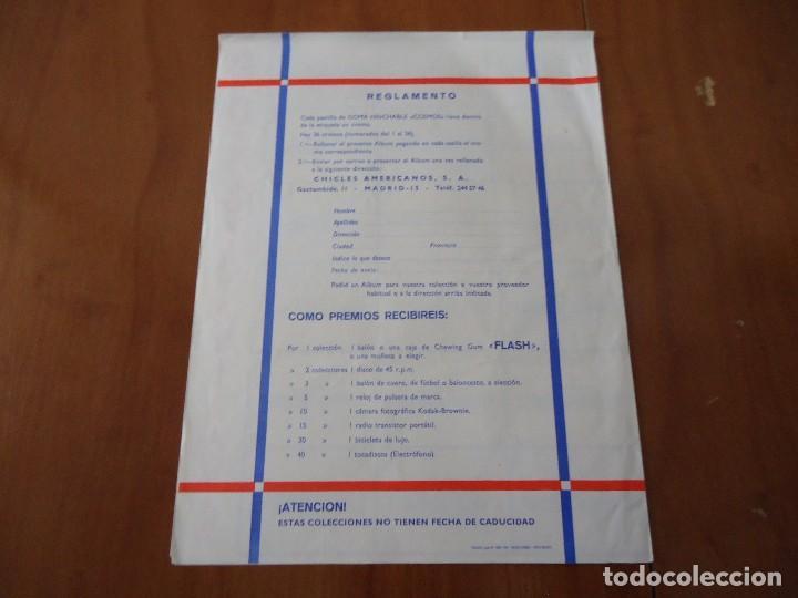 Coleccionismo Álbumes: Álbum la coleccion cosmos goma hinchable de aviones,cohetes,satelites,chicles Americanos S.A 1969 - Foto 4 - 66129070