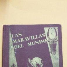 Coleccionismo Álbumes: LAS MARAVILLAS DEL MUNDO - ALBUM CROMOS VACIO -NESTLE - TDK245. Lote 66168382