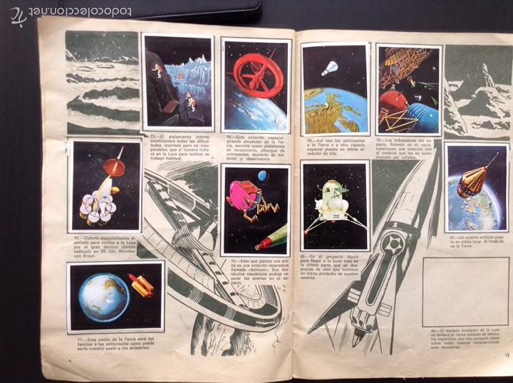 Coleccionismo Álbumes: La más grande aventura del hombre 95/120 álbum de cromos - Foto 3 - 66439969