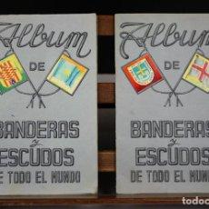 Coleccionismo Álbumes: 8172 - ÁLBUMES DE BANDERAS Y ESCUDOS DE TODO EL MUNDO. 2 EJEM(VER DESCRIP). FHER. . Lote 66715714