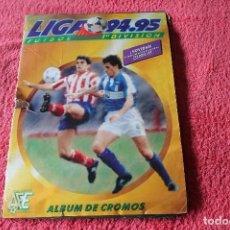 Coleccionismo Álbumes: ALBUM DE CROMOS LIGA 94-95 FALTAN 3 CROMOS DE FICHAJES. Lote 66965350