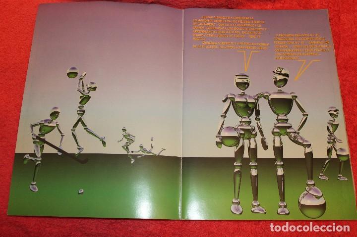 Coleccionismo Álbumes: ALBUM DE CROMOS LOS EQUIPOS DE CAJA CANTABRIA 1996 FALTAN 16 CROMOS - Foto 3 - 66970334
