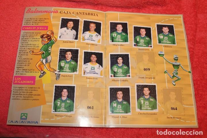 Coleccionismo Álbumes: ALBUM DE CROMOS LOS EQUIPOS DE CAJA CANTABRIA 1996 FALTAN 16 CROMOS - Foto 5 - 66970334