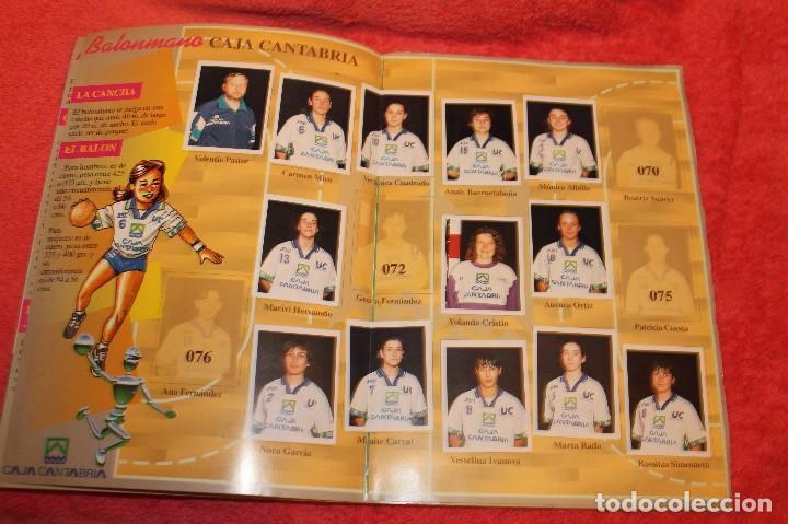 Coleccionismo Álbumes: ALBUM DE CROMOS LOS EQUIPOS DE CAJA CANTABRIA 1996 FALTAN 16 CROMOS - Foto 6 - 66970334