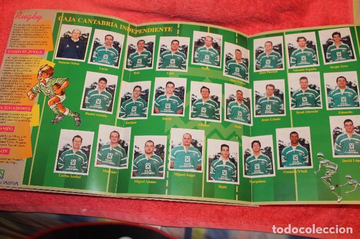 Coleccionismo Álbumes: ALBUM DE CROMOS LOS EQUIPOS DE CAJA CANTABRIA 1996 FALTAN 16 CROMOS - Foto 7 - 66970334