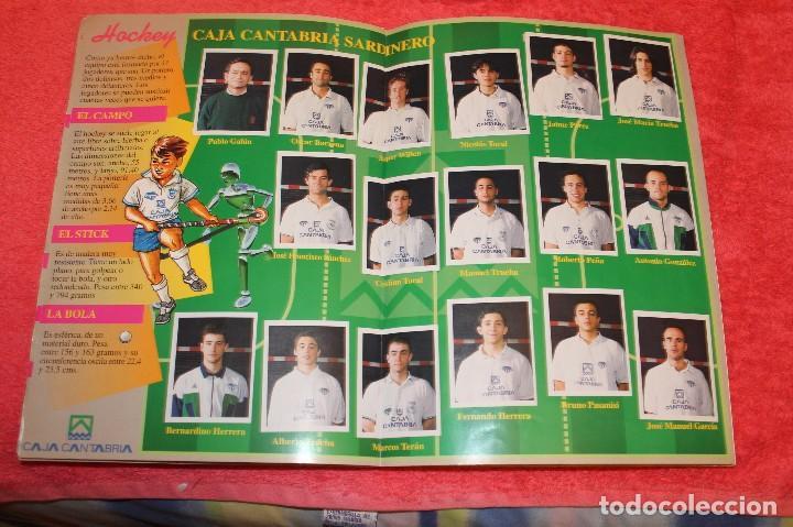 Coleccionismo Álbumes: ALBUM DE CROMOS LOS EQUIPOS DE CAJA CANTABRIA 1996 FALTAN 16 CROMOS - Foto 9 - 66970334