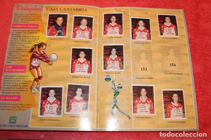 Coleccionismo Álbumes: ALBUM DE CROMOS LOS EQUIPOS DE CAJA CANTABRIA 1996 FALTAN 16 CROMOS - Foto 10 - 66970334