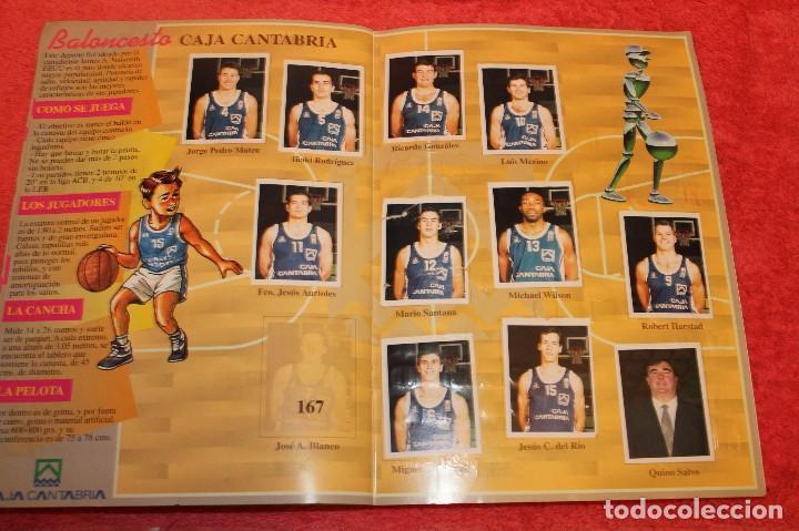Coleccionismo Álbumes: ALBUM DE CROMOS LOS EQUIPOS DE CAJA CANTABRIA 1996 FALTAN 16 CROMOS - Foto 11 - 66970334