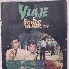 Coleccionismo Álbumes: ALBUM CROMOS VIAJE AL FONDO DEL MAR T.V. FALTAN 4 CROMOS . Lote 66987290