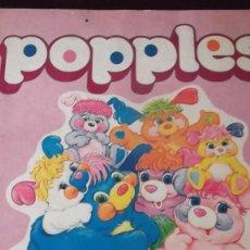 Coleccionismo Álbumes: ALBUM DE CROMOS POPPLES PANINI 1987. Lote 67291845