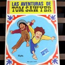Coleccionismo Álbumes: 8119 - ÁLBUM LAS AVENTURAS DE TOM SAWYER. INCOMPLETO(VER DESCRIP). EDIT. FHER. 1980.. Lote 64285307
