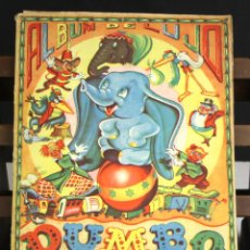 Coleccionismo Álbumes: 8208 - ÁLBUM DE 240 CROMOS. DUMBO EL ELEFANTITO VOLADOR. INCOMPLETO. WALT DISNEY. EDIC. FHER.. Lote 67506705