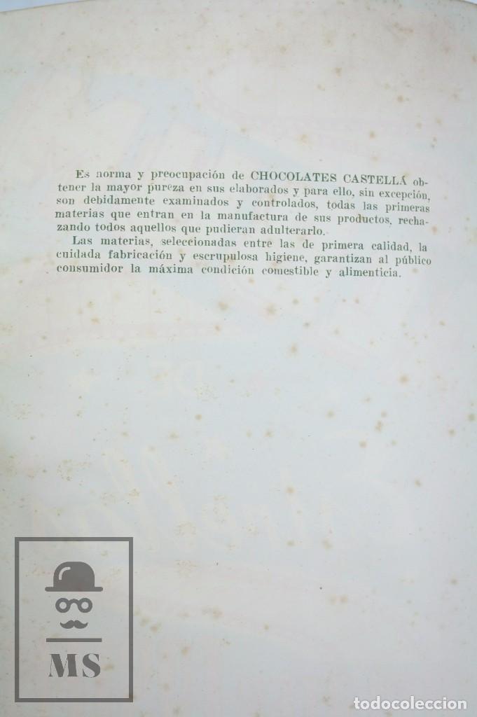 Coleccionismo Álbumes: Álbum Cromos Incompleto - Álbum de Estrellas. Chocolates Castellá, San Adrián / Adrià Besòs -Rareza - Foto 9 - 67589713