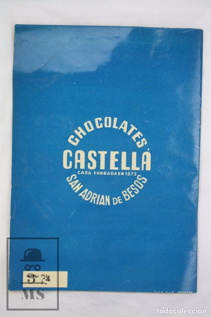 Coleccionismo Álbumes: Álbum Cromos Incompleto - Álbum de Estrellas. Chocolates Castellá, San Adrián / Adrià Besòs -Rareza - Foto 10 - 67589713