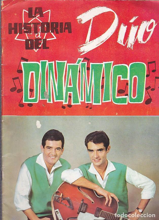 ALBUM INCOMPLETO LA HISTORIA DEL DUO DINAMICO EDICIONES ESTE VER DESCRIPCION Y RELACION DE CROMOS (Coleccionismo - Cromos y Álbumes - Álbumes Incompletos)