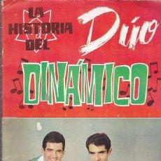 Coleccionismo Álbumes: ALBUM INCOMPLETO LA HISTORIA DEL DUO DINAMICO EDICIONES ESTE VER DESCRIPCION Y RELACION DE CROMOS . Lote 67603841