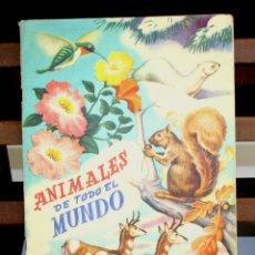 Coleccionismo Álbumes: 8220 - ÁLBUM DE 300 CROMOS. ANIMALES DE TODO EL MUNDO. INCOMPLETO. EDIC. FHER.. Lote 67847481