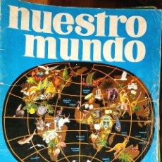 Coleccionismo Álbumes: NUESTRO MUNDO ATLAS ILUSTRADO BIMBO 1968 GRAN TAMAÑO. Lote 170464344