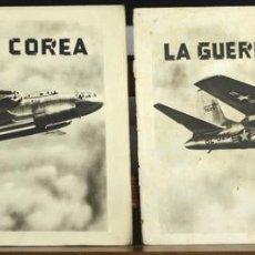 Coleccionismo Álbumes: 8221 - 2 ÁLBUMES DE CROMOS. 1ª SERIE. LA GUERRA EN COREA. EDICIONES SIMA.. Lote 67927649
