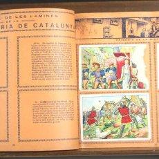 Coleccionismo Álbumes: 8226 - ÁLBUM HISTORIA DE CATALUNYA. INCOMPLETO. XOCOLATA JUNCOSA. AÑOS 30.. Lote 67944465
