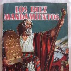 Coleccionismo Álbumes: ALBUM CROMOS LOS DIEZ MANDAMIENTOS FALTAN 100 CROMOS. Lote 68483149