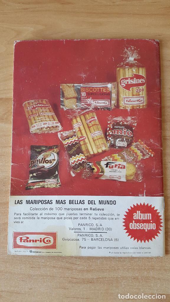 Coleccionismo Álbumes: ÁLBUM cromos LAS CIEN MARIPOSAS MÁS BELLAS DEL MUNDO EN RELIEVE / CON 32 CROMOS PANRICO - ver fotos - Foto 11 - 68985433