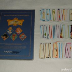 Collezionismo Album: LOTE CARTAS COLECCIONABLES DISNEY CLASSICS DE FOURNIER. Lote 140590982