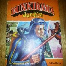 Coleccionismo Álbumes: ALBUM DUNKIRAMA DUNKIN. COMPLETO A FALTA DE 3 CROMOS. GALLINA BLANCA. Lote 69812337
