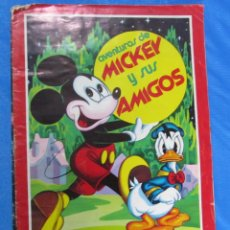 Coleccionismo Álbumes: ÁLBUM INCOMPLETO. AVENTURAS DE MICKEY Y SUS AMIGOS. EDITORIAL FHER, BILBAO, 1976.. Lote 69917821