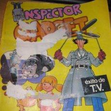 Coleccionismo Álbumes: ALBUM INSPECTOR GADGET ED ESTE 1983 . DEFECTOS. INCOMPLETO 88CROMOS. Lote 70399601