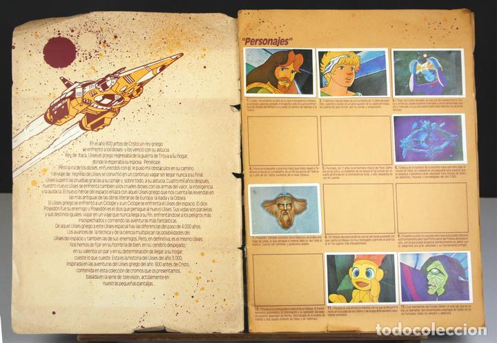 8263 - ÁLBUM DE 244 CROMOS. ULISES 31. INCOMPLETO(VER DESCRIP). EDICIONES ESTE. 1981. (Coleccionismo - Cromos y Álbumes - Álbumes Incompletos)