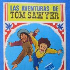 Coleccionismo Álbumes: ÁLBUM INCOMPLETO LAS AVENTURAS DE TOM SAWYER. EDITORIAL FHER, BILBAO, 1981.. Lote 70676849