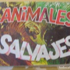 Coleccionismo Álbumes: ALBUM INCOMPLETO - ANIMALES SALVAJES DE DIFUSORA DE CULTURA S.A. - SOLO FALTAN 12 CROMOS - VER FOTOS. Lote 71790379