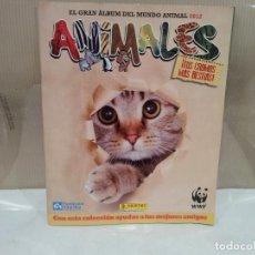 Coleccionismo Álbumes: EL GRAN ALBUM DEL MUNDO ANIMAL 2012 MUY BUEN ESTADO VER FOTOS. Lote 71909679