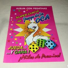 Coleccionismo Álbumes: ALBUM SUPER CHICLE DEL JUEGO DE LA OCA . INCOMPLETO . 1994 . Lote 72227277