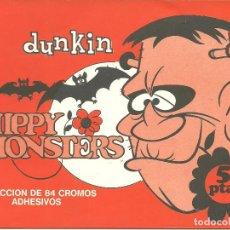 Coleccionismo Álbumes: ALBUM DE CROMOS PLANCHA DE HIPPY MONSTERS // VACÍO Y NUEVO //. Lote 72252379