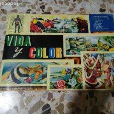 Coleccionismo Álbumes: VIDA Y COLOR CASI COMPLETO, SOLO FALTAN 2 CROMOS. Lote 72436851