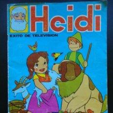 Coleccionismo Álbumes: HEIDI FHER 1975 FALTAN -25 CROMOS. Lote 72751267