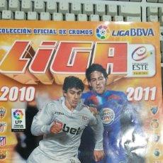 Coleccionismo Álbumes: ÁLBUM CROMOS LIGA 2010/ 11 COLECCIÓN ESTE. Lote 72864770
