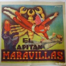 Coleccionismo Álbumes: ALBUM DE CROMOS INCOMPLETO EL CAPITAN MARAVILLAS.AÑO 1943. Lote 73570387