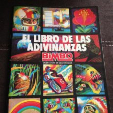 Coleccionismo Álbumes: ALBUM EL LIBRO DE LAS ADIVINANZAS VACIO PLANCHA COMO NUEVO EXCELENTE. Lote 73697739