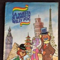 Coleccionismo Álbumes: ALBUM DE CROMOS LA VUELTA AL MUNDO DE WILLY FOG MAGA AÑO 1983 INCOMPLETO PEGADOS 152 DE 200. Lote 74839383