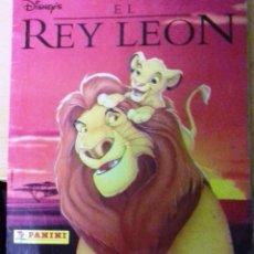 Collectable Incomplete Albums - ALBUM CROMOS EL REY LEON. DISNEY. 1995 FALTAN 18 CROMOS. - 75001443