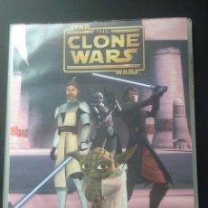 Coleccionismo Álbumes: STAR WARS CLONE WARS PANINI STAKS ALBUM ARCHIVADOR CON 119 STAKS STAK. Lote 75018005